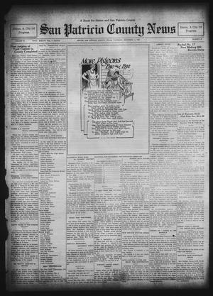 Primary view of object titled 'San Patricio County News (Sinton, Tex.), Vol. 22, No. 46, Ed. 1 Thursday, December 4, 1930'.