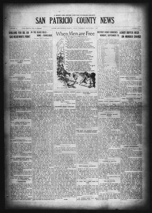 Primary view of object titled 'San Patricio County News (Sinton, Tex.), Vol. 19, No. 31, Ed. 1 Thursday, September 1, 1927'.