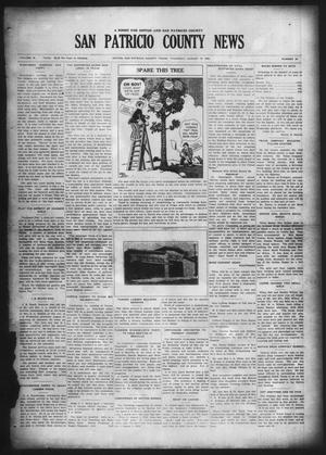 Primary view of object titled 'San Patricio County News (Sinton, Tex.), Vol. 18, No. 29, Ed. 1 Thursday, August 19, 1926'.