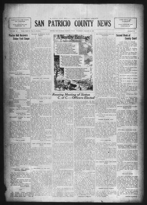Primary view of object titled 'San Patricio County News (Sinton, Tex.), Vol. 16, No. 52, Ed. 1 Thursday, January 29, 1925'.