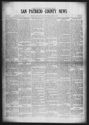 Primary view of object titled 'San Patricio County News (Sinton, Tex.), Vol. 17, No. 30, Ed. 1 Thursday, August 27, 1925'.