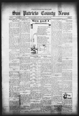 Primary view of object titled 'San Patricio County News (Sinton, Tex.), Vol. 25, No. 26, Ed. 1 Thursday, July 13, 1933'.