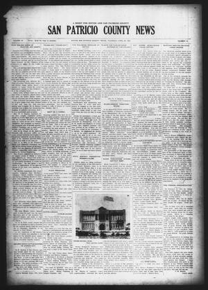 Primary view of object titled 'San Patricio County News (Sinton, Tex.), Vol. 18, No. 13, Ed. 1 Thursday, April 29, 1926'.