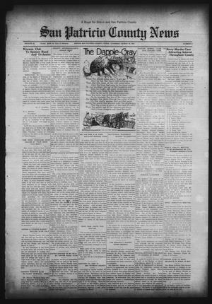 Primary view of object titled 'San Patricio County News (Sinton, Tex.), Vol. 23, No. 9, Ed. 1 Thursday, March 19, 1931'.