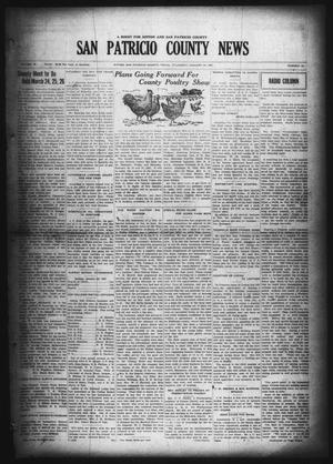 Primary view of object titled 'San Patricio County News (Sinton, Tex.), Vol. 18, No. 52, Ed. 1 Thursday, January 27, 1927'.