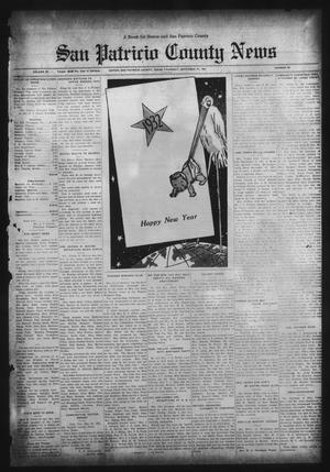 Primary view of object titled 'San Patricio County News (Sinton, Tex.), Vol. 23, No. 50, Ed. 1 Thursday, December 31, 1931'.