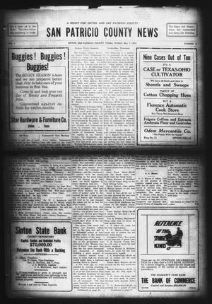 Primary view of object titled 'San Patricio County News (Sinton, Tex.), Vol. 7, No. 12, Ed. 1 Friday, May 7, 1915'.