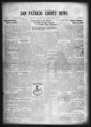 Primary view of object titled 'San Patricio County News (Sinton, Tex.), Vol. 17, No. 38, Ed. 1 Thursday, October 22, 1925'.