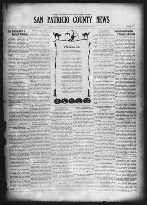 Primary view of object titled 'San Patricio County News (Sinton, Tex.), Vol. 18, No. 39, Ed. 1 Thursday, October 28, 1926'.