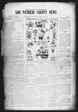 Primary view of object titled 'San Patricio County News (Sinton, Tex.), Vol. 17, No. 49, Ed. 1 Thursday, January 7, 1926'.