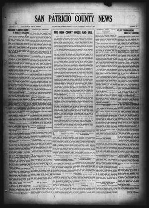 Primary view of object titled 'San Patricio County News (Sinton, Tex.), Vol. 19, No. 12, Ed. 1 Thursday, April 21, 1927'.