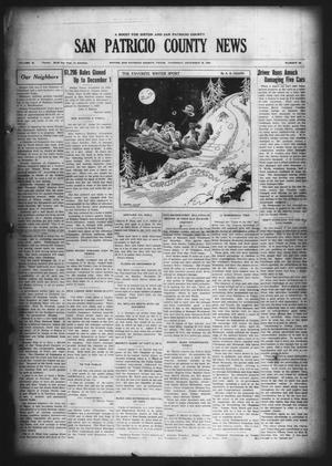 Primary view of object titled 'San Patricio County News (Sinton, Tex.), Vol. 18, No. 46, Ed. 1 Thursday, December 16, 1926'.