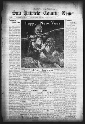 Primary view of object titled 'San Patricio County News (Sinton, Tex.), Vol. 25, No. 50, Ed. 1 Thursday, December 28, 1933'.