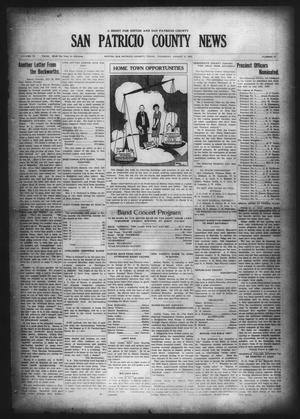 Primary view of object titled 'San Patricio County News (Sinton, Tex.), Vol. 18, No. 27, Ed. 1 Thursday, August 5, 1926'.