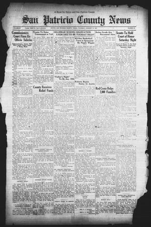 Primary view of object titled 'San Patricio County News (Sinton, Tex.), Vol. 24, No. 52, Ed. 1 Thursday, January 12, 1933'.
