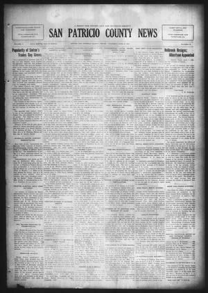 Primary view of object titled 'San Patricio County News (Sinton, Tex.), Vol. 17, No. 10, Ed. 1 Thursday, April 9, 1925'.