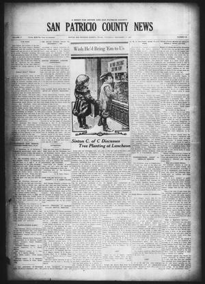 Primary view of object titled 'San Patricio County News (Sinton, Tex.), Vol. 17, No. 46, Ed. 1 Thursday, December 17, 1925'.