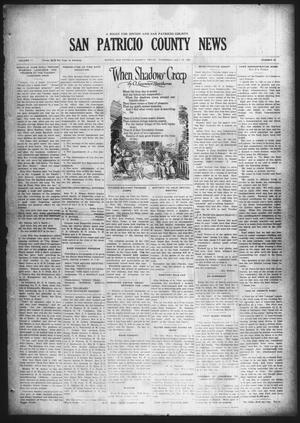 Primary view of object titled 'San Patricio County News (Sinton, Tex.), Vol. 17, No. 25, Ed. 1 Thursday, July 23, 1925'.