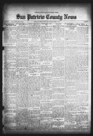 Primary view of object titled 'San Patricio County News (Sinton, Tex.), Vol. 24, No. 9, Ed. 1 Thursday, March 17, 1932'.