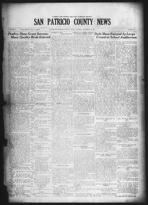 Primary view of object titled 'San Patricio County News (Sinton, Tex.), Vol. 17, No. 45, Ed. 1 Thursday, December 10, 1925'.