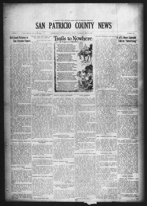 Primary view of object titled 'San Patricio County News (Sinton, Tex.), Vol. 17, No. 20, Ed. 1 Thursday, June 18, 1925'.
