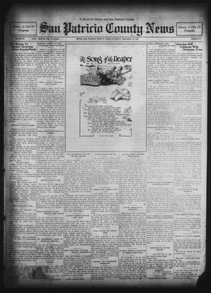Primary view of object titled 'San Patricio County News (Sinton, Tex.), Vol. 22, No. 48, Ed. 1 Thursday, December 18, 1930'.