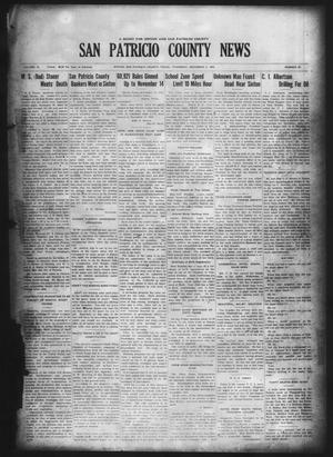 Primary view of object titled 'San Patricio County News (Sinton, Tex.), Vol. 18, No. 44, Ed. 1 Thursday, December 2, 1926'.