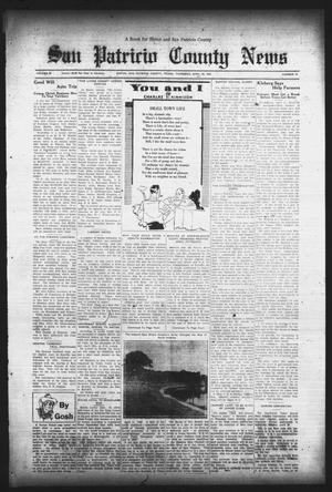 Primary view of object titled 'San Patricio County News (Sinton, Tex.), Vol. 25, No. 14, Ed. 1 Thursday, April 20, 1933'.