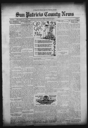 Primary view of object titled 'San Patricio County News (Sinton, Tex.), Vol. 23, No. 27, Ed. 1 Thursday, July 23, 1931'.