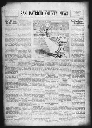 Primary view of object titled 'San Patricio County News (Sinton, Tex.), Vol. 17, No. 18, Ed. 1 Thursday, June 4, 1925'.