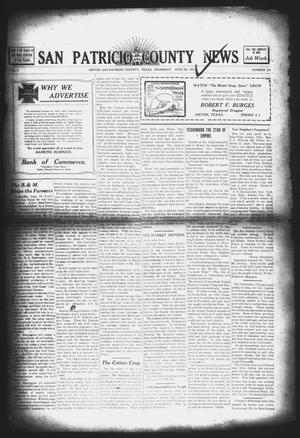 Primary view of object titled 'San Patricio County News (Sinton, Tex.), Vol. 3, No. 20, Ed. 1 Thursday, June 29, 1911'.