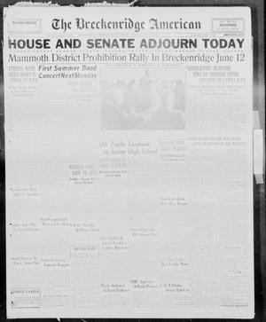 Primary view of The Breckenridge American (Breckenridge, Tex.), Vol. 13, No. 155, Ed. 1, Thursday, June 1, 1933