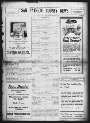 Primary view of object titled 'San Patricio County News (Sinton, Tex.), Vol. 14, No. 15, Ed. 1 Thursday, May 18, 1922'.