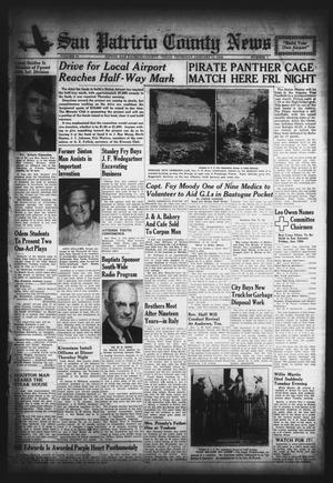 Primary view of object titled 'San Patricio County News (Sinton, Tex.), Vol. 37, No. 1, Ed. 1 Thursday, January 11, 1945'.