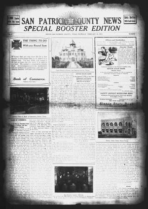 Primary view of object titled 'San Patricio County News (Sinton, Tex.), Vol. 3, No. 1, Ed. 1 Thursday, February 16, 1911'.