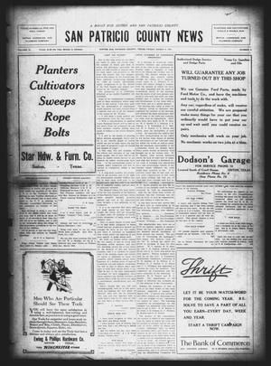 Primary view of object titled 'San Patricio County News (Sinton, Tex.), Vol. 13, No. 4, Ed. 1 Friday, March 4, 1921'.