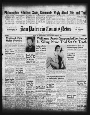 Primary view of object titled 'San Patricio County News (Sinton, Tex.), Vol. 42, No. 12, Ed. 1 Thursday, March 23, 1950'.