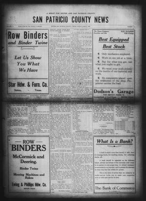 Primary view of object titled 'San Patricio County News (Sinton, Tex.), Vol. 12, No. 17, Ed. 1 Friday, June 4, 1920'.
