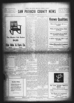 Primary view of object titled 'San Patricio County News (Sinton, Tex.), Vol. 10, No. 22, Ed. 1 Friday, July 12, 1918'.