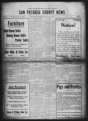 Primary view of object titled 'San Patricio County News (Sinton, Tex.), Vol. 12, No. 19, Ed. 1 Friday, June 18, 1920'.