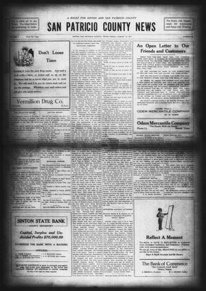 Primary view of object titled 'San Patricio County News (Sinton, Tex.), Vol. 9, No. 26, Ed. 1 Friday, August 10, 1917'.