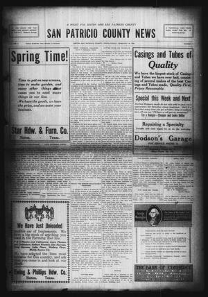 Primary view of object titled 'San Patricio County News (Sinton, Tex.), Vol. 11, No. 1, Ed. 1 Friday, February 14, 1919'.