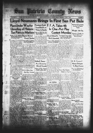 Primary view of San Patricio County News (Sinton, Tex.), Vol. 29, No. 25, Ed. 1 Thursday, July 1, 1937