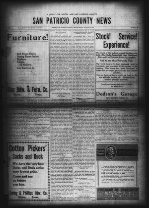 Primary view of object titled 'San Patricio County News (Sinton, Tex.), Vol. 11, No. 28, Ed. 1 Friday, August 22, 1919'.