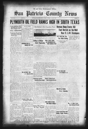 Primary view of object titled 'San Patricio County News (Sinton, Tex.), Vol. 28, No. 24, Ed. 1 Thursday, June 25, 1936'.