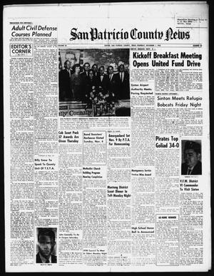 Primary view of object titled 'San Patricio County News (Sinton, Tex.), Vol. 54, No. 44, Ed. 1 Thursday, November 1, 1962'.