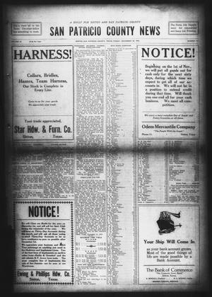 Primary view of object titled 'San Patricio County News (Sinton, Tex.), Vol. 10, No. 41, Ed. 1 Friday, November 22, 1918'.