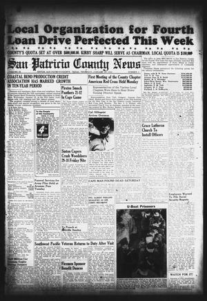 Primary view of object titled 'San Patricio County News (Sinton, Tex.), Vol. 36, No. 2, Ed. 1 Thursday, January 20, 1944'.