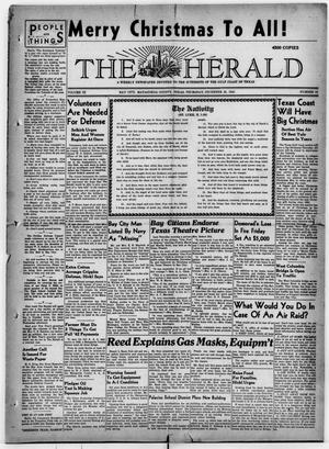Primary view of object titled 'The Herald (Bay City, Tex.), Vol. 3, No. 13, Ed. 1 Thursday, December 25, 1941'.