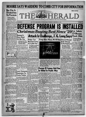 Primary view of object titled 'The Herald (Bay City, Tex.), Vol. 3, No. 12, Ed. 1 Thursday, December 18, 1941'.